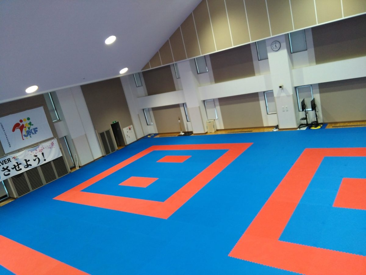 PROGAME TATAMI BY TROCELLEN AND JAPAN KARATE FEDERATION